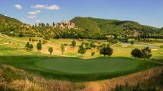 Antognolla Golf, in Italy, is our #GolfCourseOfTheDay! What a beautiful view! | Rock Bottom Golf #RockBottomGolf
