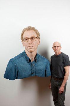 Las esculturas Hiper-Realistas de Evan Penny