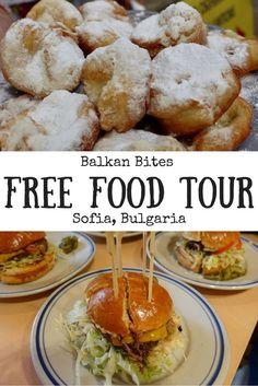 A free Balkans food tour in Sofia, Bulgaria. Free things to do in Bulgaria. Travel in Eastern Europe.