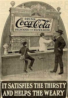 Vintage Coke ads are hilarious! This site has a lot of them too!