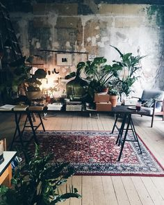 Smart Ideas for Creative Studio Space Design 6 - Awesome Indoor & Outdoor Room Inspiration, Interior Inspiration, Interior Ideas, Design Inspiration, Interior Bohemio, Vintage Industrial Decor, Industrial Design, Industrial Style, Vintage Decor