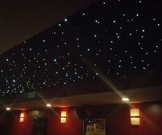 Fiber Optic Panel Star Ceiling-Dan said he would do this for me. Too much?