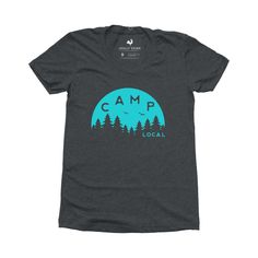 a380d833c Camp Scape local tee #camping #locallygrown #camplife Camping Life, Women  Camping,