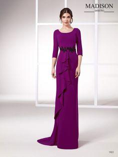 82ce566b8 Elegante vestido de fiesta para madrinas e invitadas  MadisonDiseño   Be Madison  vestidosdefiesta  vestidosdeboda