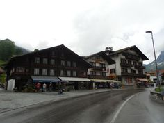 Rainy day in Grindelwald