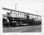 (Class H1).  Pennsylvania R.R. #1.   2-8-0, Cosolidation steam locomotive  Built in 1892 by Burnham, Wms & Co.