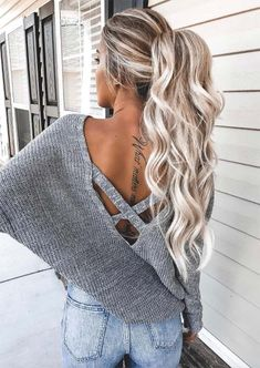 Hair Extension Prices: How to Wear Hair Extensions #hairextension #hairextensions #hair #longhair #blondehair #ponytail