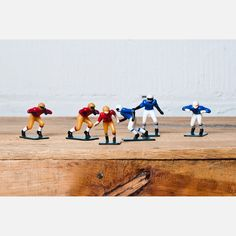 (97) Fab.com | Football Player Cake Toppers