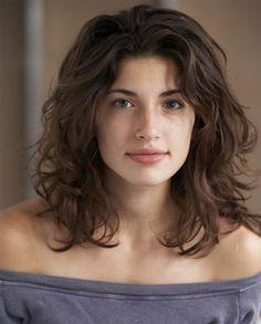Wavy Hairstyles Medium Length Natural Curly Wavy Haircuts  Google Search …  Style  …