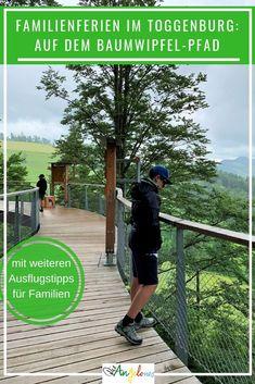 Wildhaus ist für aktive und abenteuerlustige Familien ein perfekter Ausgangsort für Familienferien. Unweit von Zürich entfernt, kann man bereits für ein Wochenende in eine andere Welt eintauchen. Eingebettet zwischen dem mächtigen Säntis und den sieben Churfirsten geniesst man als Familie Natur pur. Ein Besuch des Baumwipfelpfads ist ein Must, wenn im Toggenburg. #Toggenburg #Wildhaus #Schweiz  #Baumwipfelpfad #Familienferien #DieAngelones Chur, Hiking, European Travel, Natural Wonders, Family Getaways, Road Trip Destinations, Greece, Walks, Trekking