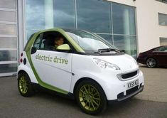 The Smart Fortwo 'Electric Drive' Car is a Pint-Sized Plug-In #eco #vehicles trendhunter.com