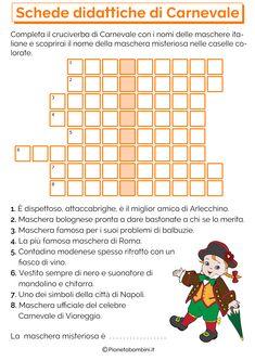 Schede-Didattiche-Carnevale-Scuola-Primaria-9.png (2480×3508)