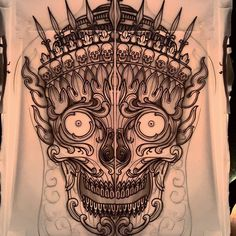 Last one for the moment! Possible start of a back piece/torso. Available to be tattooed! email on elliott@triplesixstudios.com for info! thanks! #tattoo #tattoos #tattooworkers #tattoosnob #tattoolifemagazine #triplesixstudios #neotrad #neotradsub #neotraditional #neojapanese #uktta #art #artist #draw #drawing #japanesetattoos #kapala #tibetanskull #tibetan #skull #skulltattoo #triplesix #sunderland #northeast #teamego #thebesttattooartists