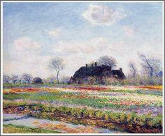 Claude Monet (1840–1926), Champs de tulipes à Sassenheim, près de Leiden - 1886