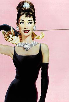 "vintagegal: "" Film poster for Breakfast at Tiffany's (1961) dir. Blake Edwards """