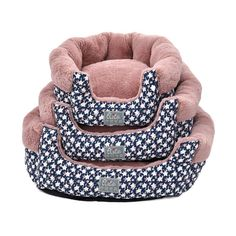 Elite Stars Pattern Round Pet Bed for Dogs and Cats Waterproof Removable Canvas Cover Winter Thick Warm Fleece Lining >>> Check out the image by visiting the link.
