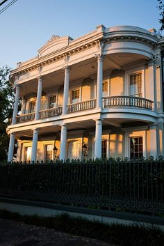 Southern mansions