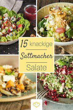 15 leckere Salate für die kalte Jahreszeit: für mehr Abwechslung auf deinem Salatteller!