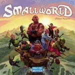 Small World board game. Players vie for conquest and control of a world that is simply too small to accommodate them all.