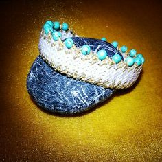 GEMSTONE CROWN Bracelet - TURQUOISE