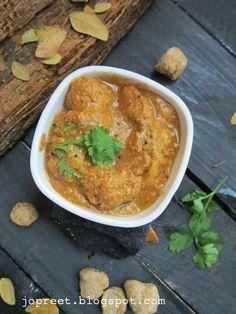 Gobi aur Soya Pasanda (Cauliflower & Soya Chunks Pasanda)