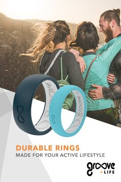 Groove Silicone Wedding Rings for Men are perfect for the athlete, hunter, professional, and outdoorsman. Wedding Engagement, Our Wedding, Dream Wedding, Wedding Rings, Wedding Ceremony, Perfect Wedding, Engagement Rings, Silicone Rings, Maybe Someday