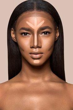 Beste Make-up Textmarker dunkle Haut Ideen - -. - - Beste Make-up Textmarker dunkle Haut Ideen - - Highlighter For Dark Skin, Contour For Dark Skin, Dark Skin Makeup, Highlighter Makeup, Contour Makeup, Contouring And Highlighting, Contouring Dark Skin, Contour Brush, Highlighters