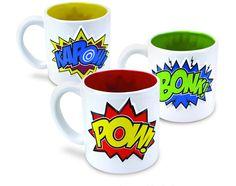 Comic Mug Set $17