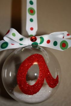 Added small snowflakes with the white glitter...had alot of fun making these for Christmas gifts.