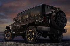 2013 Jeep Wrangler Dragon Concept...I will take 1!