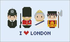 London icons Mini people around the world PDF par cloudsfactory