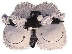 Cow slippers! OH BESSIE!