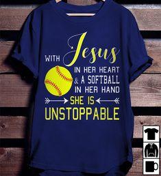 1 Funny Softball Shirts, Softball Shoes, Softball Crafts, Softball Players, Girls Softball, Baseball Shirts, Sports Shirts, Tee Shirt Designs, Dad To Be Shirts