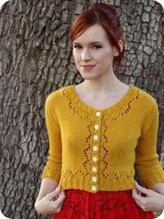 Shona Stitches: The happiest cardigan in my closet ~ free pattern via Ravelry: Miette by Andi Satterlund