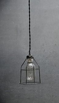 Love this style of pendant light.