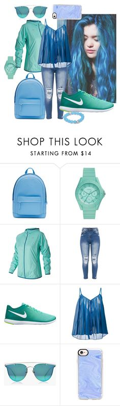 """Dream Life"" by watermelonhead on Polyvore featuring PB 0110, FOSSIL, New Balance, NIKE, Roberto Cavalli, Boohoo, Casetify and Anzie"