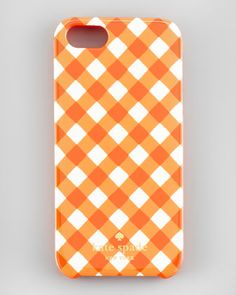 #gingham resin iPhone 5 case by #katespade new york at Neiman Marcus.