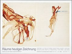Beuys – Poster for a show in 1985