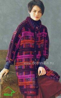 knitting coat (pattern on russian)