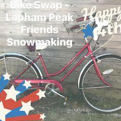 Have a fun Safe 4th❤️🇺🇸🙏🏼❄️Bike Swap -LPF Snowmaking