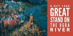 The Battle of the Ugra: How Rus Threw Off the Tatar Yoke - Nicholas Kotar Third Rome, Grand Prince, Sky Sea, Military History, Ikon, Medieval, Russia, Battle, Illustration Art