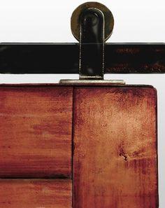 Top Mounted Barn Door Hardware modern-barn-door-hardware