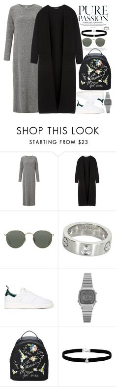 """""""Без названия #3855"""" by catelinota-a ❤ liked on Polyvore featuring Kin by John Lewis, Theory, Ray-Ban, Cartier, Golden Goose, Casio, Love Moschino and Amanda Rose Collection"""