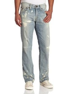 True Religion Men's Ricky Straight Fit Classic Vintage, Millerton, 31