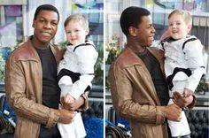 John Boyega Just Granted This Little Boy's Wish To Meet Finn