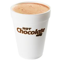 What's needed? Hot Chocolate | Dunkin' Donuts & cups (DD may give them when order)