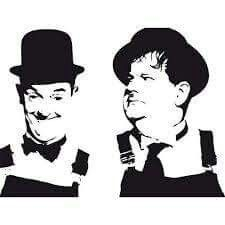 Stan and Ollie Laurel Et Hardy, 3d Templates, Wood Projects That Sell, Shadow Photos, Wood Burning Patterns, Black And White Painting, Scroll Saw Patterns, Arte Pop, Stencil Art