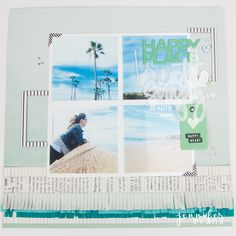 Document the places that make you feel happy. by Jennifer Evans for Heidi Swapp Love Scrapbook, Scrapbook Cover, Scrapbook Storage, Scrapbook Organization, Vintage Scrapbook, Travel Scrapbook, Scrapbook Cards, Scrapbooking, Scrapbook Rooms