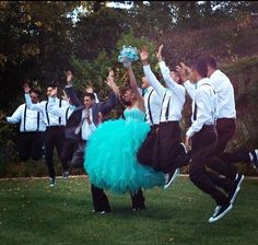 How the chambelanes will be dressed :) an my dress ❤