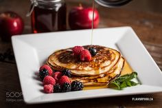 pancakes by ClaudeBelanger1 Food Photography #InfluentialLime